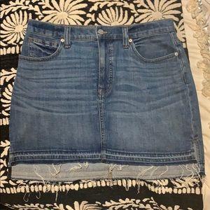Madewell Denim Skirt